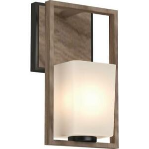 Details About Volume Lighting 5561 Paxton Single Light 13 Tall Bathroom Sconce With Frosted G