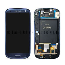 Blue Samsung Galaxy S3 Sprint L710 LCD Touch Screen Digitizer + Frame Assembly
