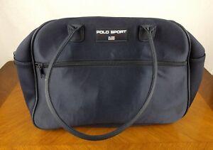 Polo Sport Ralph Lauren Navy Blue Fragrances Bag Purse Tote Pouch ... 560af8f2bdaa7