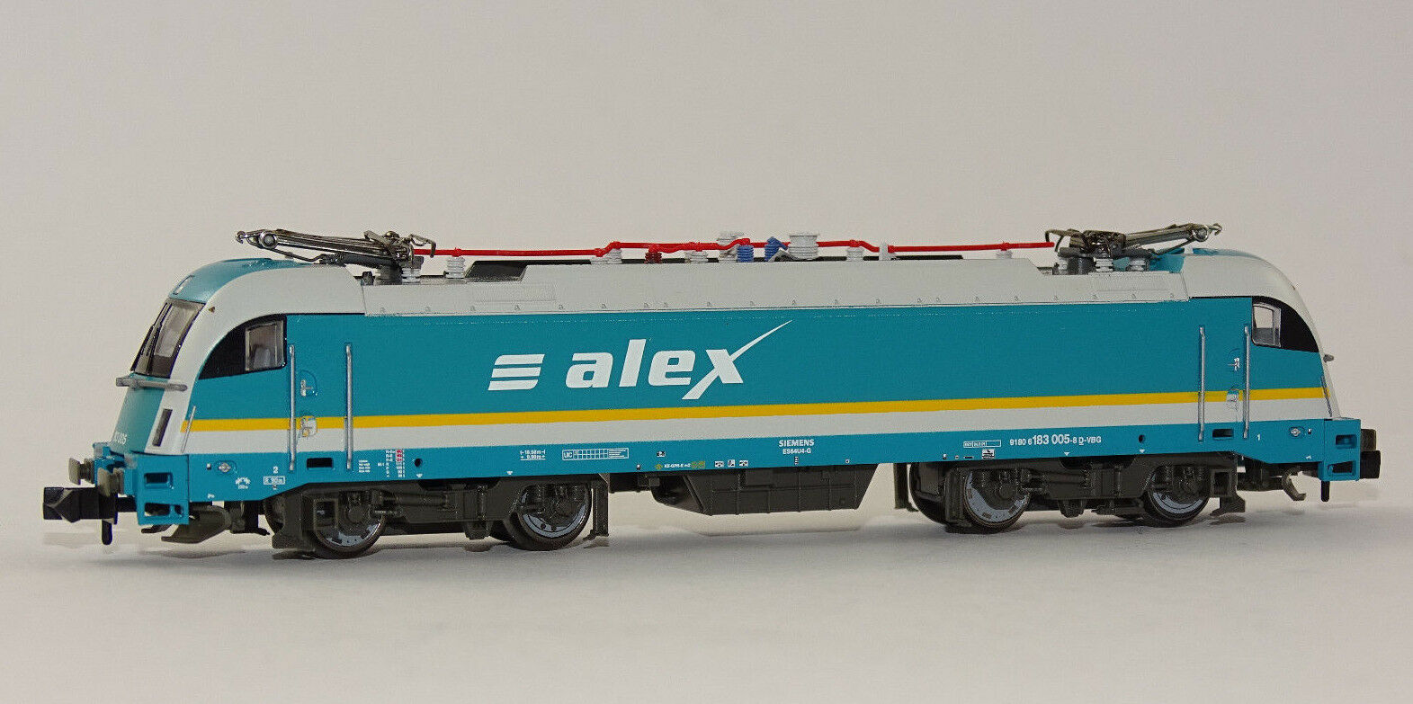 Fleischmann 731210 elektrolokomotive Alex BR 183 005 Algovia Express NUOVO OVP