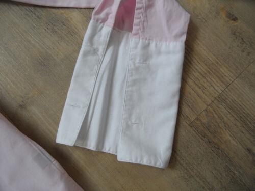 Belle Blanc Gant Kos418 Poignets Blouse 40 premiers Taille Rose ZRBv7nBq