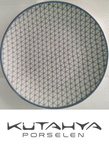 Elegante Speiseteller Kütahya Ø 25cm 6 Stück im Set mit Dekorative Muster Neu