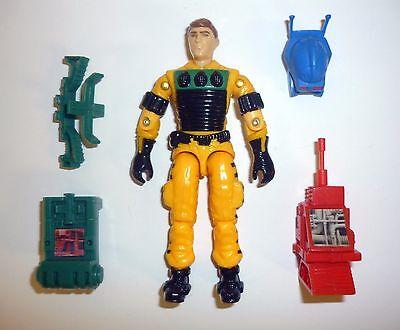 GI Joe Lightfoot Vintage Action Figure 99/% COMPLETE C9 v1 1988