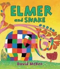 Elmer and Snake by David McKee (2013, Hardcover)