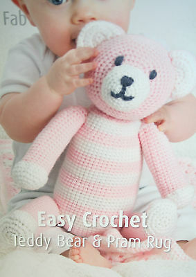 Crochet Teddy Bear - Free Pattern! - Leelee Knits   400x283