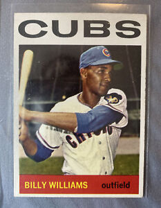 "1964 TOPPS #175 ""SWEET SWINGING"" BILLY WILLIAMS HOF CHICAGO CUBS *SHARP NICE"