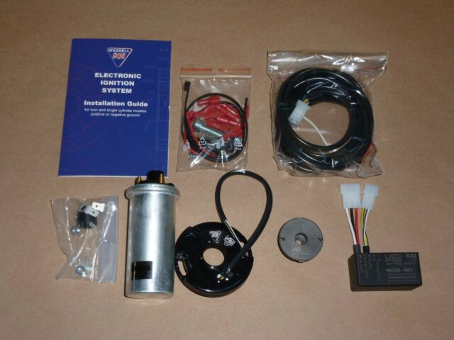 BSA 250 441 500 ELECTRONIC IGNITION WITH COIL by VAPE WASSELL MICRO-MK1 B44 B50