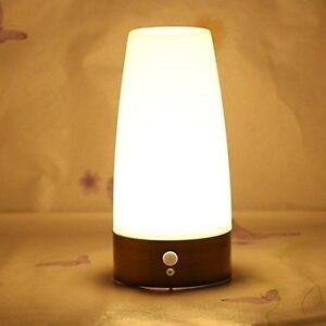 led night light wireless motion sensor lamps indoor outdoor battery operated new ebay. Black Bedroom Furniture Sets. Home Design Ideas