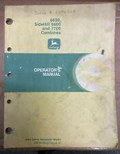 John Deere 6600 Sidehill 6600 And 7700 Combines Op Manual Om H100537 J7 T 5