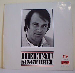 33-tours-Michael-HELTAU-Vinyl-Record-LP-12-034-SINGING-BREL-POLYDOR-63853-RARE
