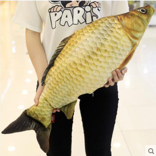 39'' Big Fish Plush Soft Toy Doll Pillow Sofa Stuffed Animal Birthday Xmas Gift