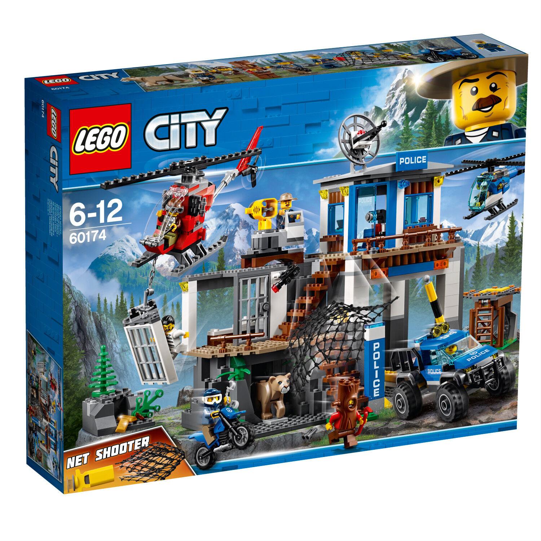 LEGO City Police 60174 Hauptquartier der Bergpolizei Le poste de police N1/18