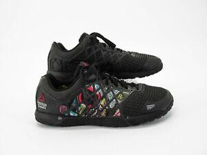 discapacidades estructurales nuevo baratas nueva productos Reebok Crossfit Nano 4.0 Hombre Negro Zapatos De ...