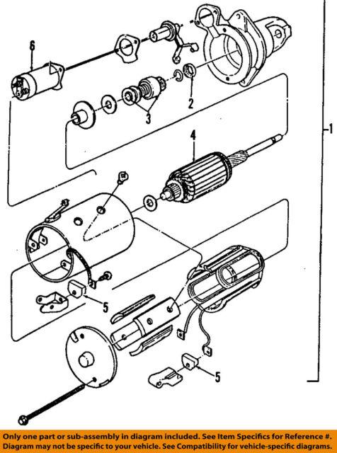 Buy Ford Oem 95 00 E 350 Econoline Club Wagon Starter Motor