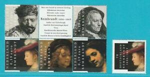 Bund-Niederlande-aus-2006-postfrisch-Gemeinschaftsausgabe-400-Geb-Rembrandt