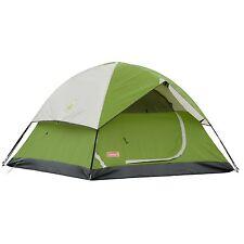 Coleman Sundome 6 Person 10 x 10 Feet 2-Pole Camping Tent, Green   2000027927