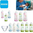 Mam Baby Formula Feeding Self Sterilising Anti-Colic Infant Bottle 260ml 3 Pack