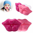 Infant Baby Soother Pacifiers Dummy Silicone Nipple Funny Red Lips Toddler Gift
