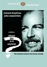 WHOSE LIFE IS IT ANYWAY (1981 Richard Dreyfuss) -  Region Free DVD - Sealed