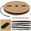 A Roll 30M//100 Feet Black 4.5mm Polyolefin 2:1 Car Heat Shrink Tubing Tube Cable