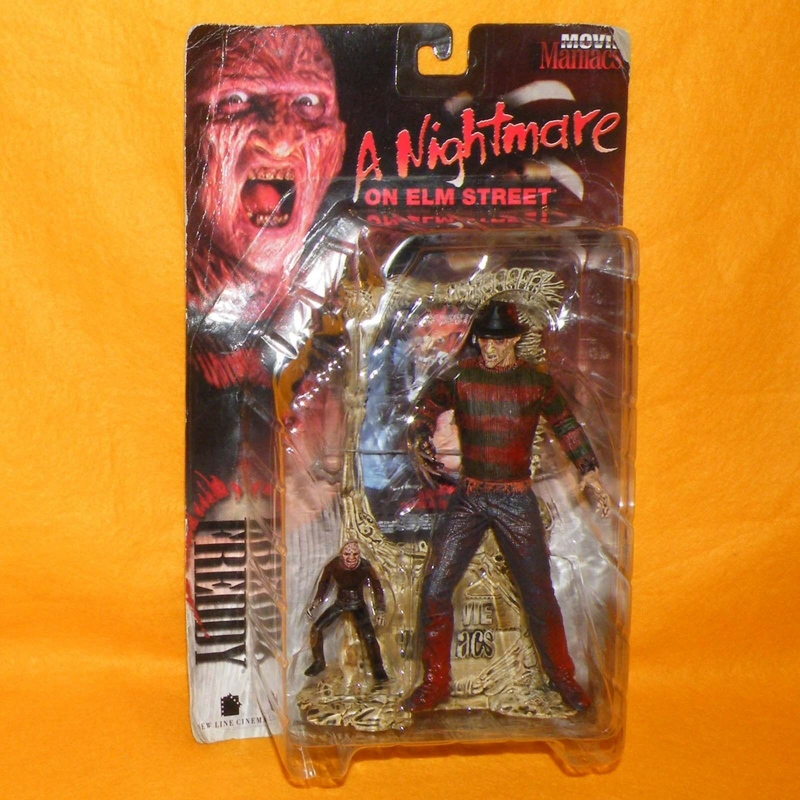 1998 Mcfarlane Movie Maniacs una pesadilla En Elm Street Frojody Krueger Figura Moc