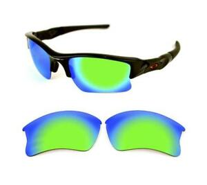 460e21a59c Image is loading NEW-POLARIZED-GREEN-CUSTOM-XLJ-LENS-FOR-OAKLEY-
