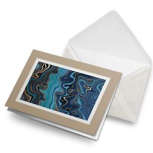Greetings-Card-Biege-Blue-Marble-Ink-Art-Gold-Art-Deco-21519