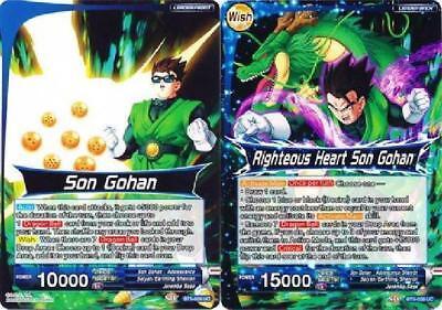 Righteous Heart Son Gohan BT5-026 FOIL Dragon Ball Super TCG NEAR MINT