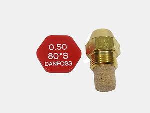 DANFOSS Ugello Bruciatore 0.50 x 80