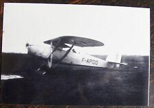AVIATION, PHOTO AVION , HANRIOT, 1936, NANTES