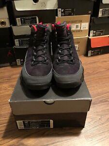 online retailer 465aa cac7c Image is loading Nike-Air-Jordan-9-Retro-IX-2010-Black-