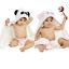 miniature 2 - Lotus 100% organic bamboo baby hooded towel & washcloth set
