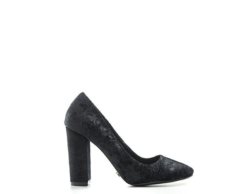 shoes gold&gold women Decollete  black Tessuto GOLES241.NE.01