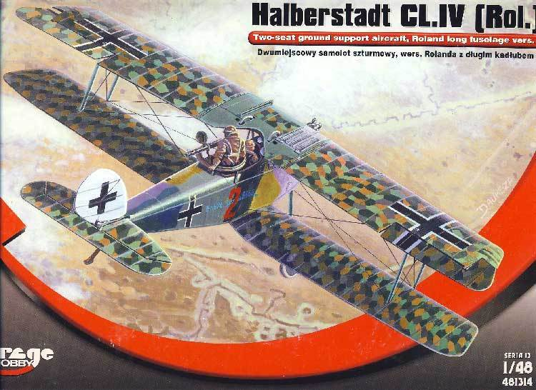 Mirage - Halberstadt Cl.iv (Roland Rol Largo Modelo Equipo de Construcción 1