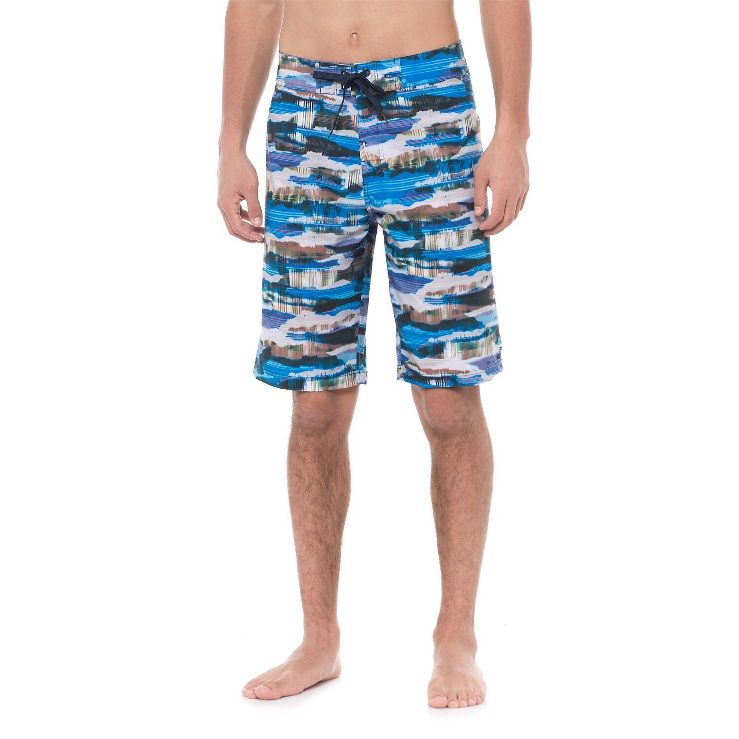 NEW prAna Mens Sediment Swim Trunks Board Short UPF 50+
