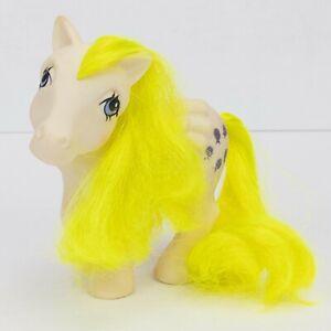 1984 G1 My Little Pony SURPRISE Pegasus Glitter Balloons White Vintage