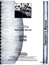 White 2 135 2 155 Tractor Owners Operators Manual Red Stripe