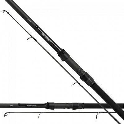 New daiwa black widow G50 carp rod 50mm butt guides 12ft 2pc-tous test courbes
