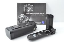 [Excellent+++] Canon Motor Drive MA & Battery Pack MA Set w/Manual from Japan