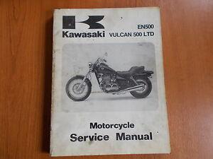genuine kawasaki vulcan 500 ltd workshop manual 1996 ebay rh ebay co uk Keihin Carburetor Kawasaki Vulcan 500 2009 kawasaki vulcan 500 ltd owners manual