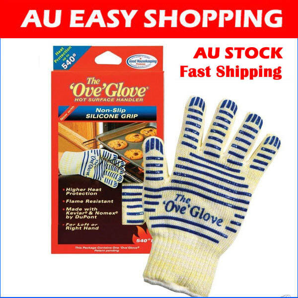 1X Glove Hot Surface Handler oven mitt Kitchen Pan Stove Pizza Microwave oven