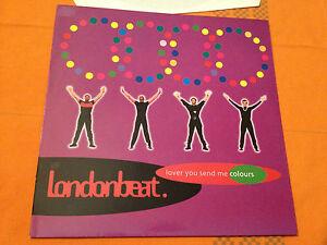 LONDONBEAT-Lover-You-Send-Me-Colours-1992-German-12-034-Vinyl-4-tracks-NMINT
