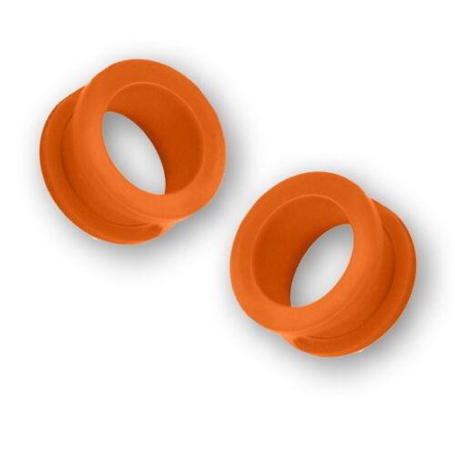 Flesh Tunnel Plug Piercing Kunststoff Acryl mit Schraubgewinde 3mm 25mm