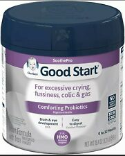 Gerber Good Start Comforting Probiotics Infant Powder  Formula 0-12  Exp 05//2021