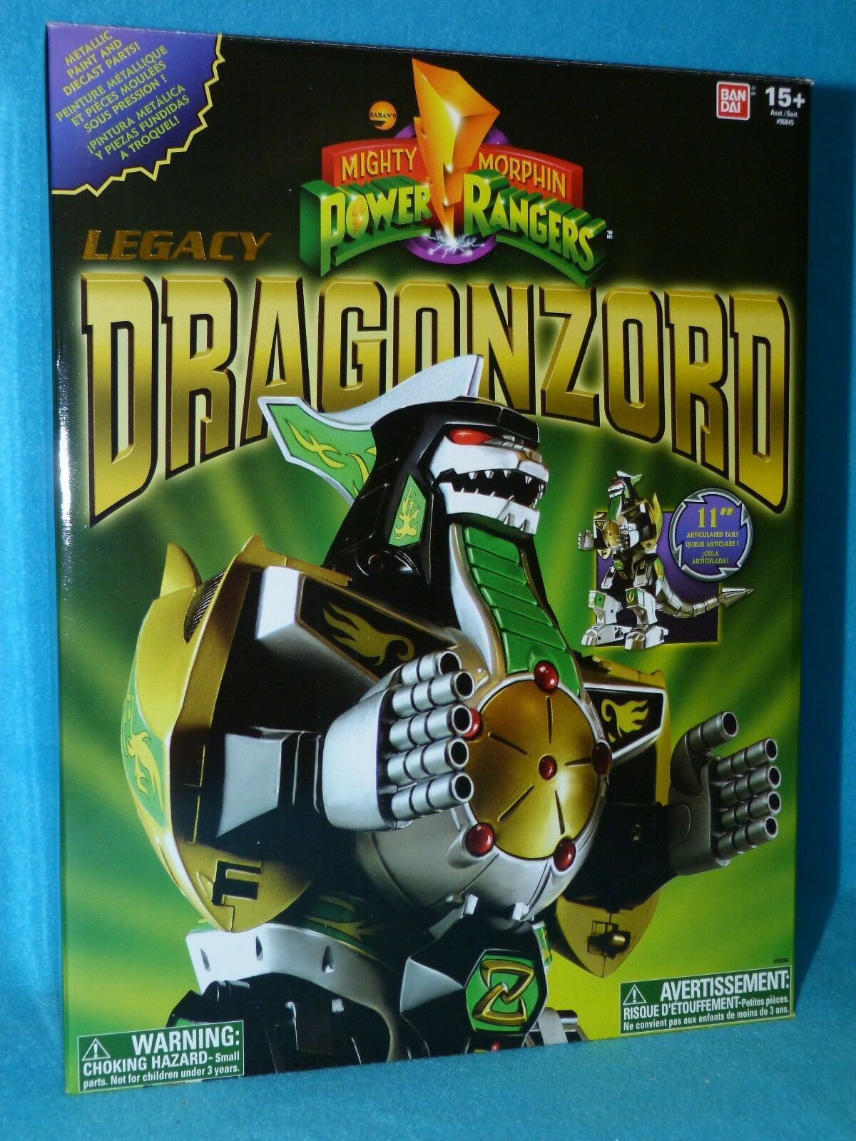 Legado Dragonzord-Mighty Morphin Power Rangers-Power Rangers