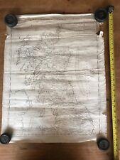 Antique Map Of Scotland North England 1777