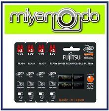 Fujitsu 2AA 2450mAh Rechargeable Battery (4-Pack)