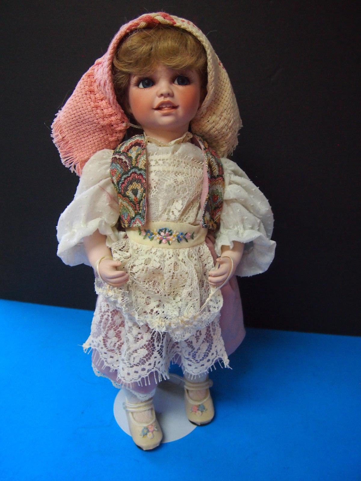 MITZI  International-Sweden- Dolls by Jerri McCloud 16  RETIrot VINTAGE DOLL