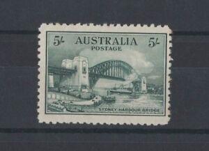 1932-Australia-5-Sydney-Harbour-Bridge-SG-143-mlh-rare