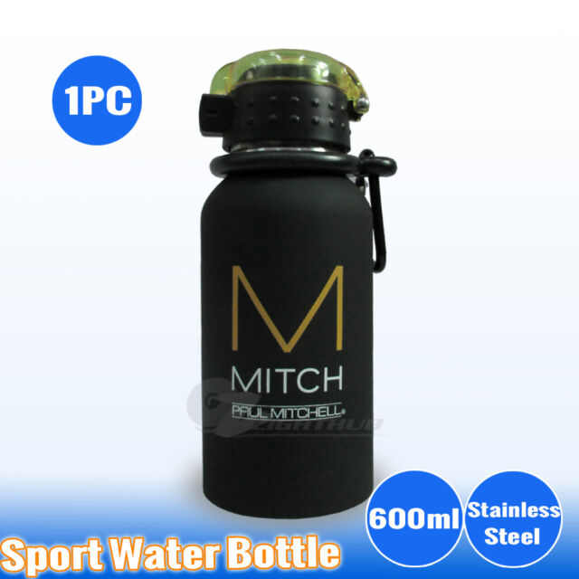 1PC Stainless Steel Water Bottle Sport Outdoor Training Drink Cap Gym Camping
